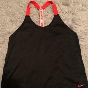 Nike top.